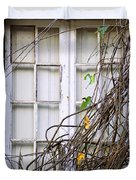 Branchy Window Duvet Cover by Carlos Caetano