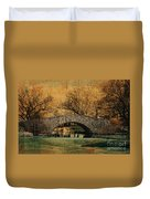Bridge From The Past Duvet Cover by Nishanth Gopinathan