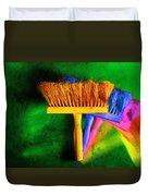 Brush Duvet Cover by Mauro Celotti