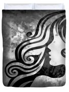 Btw I Loved You 2 Duvet Cover by Angelina Vick
