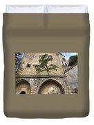 Buchlov Castle Duvet Cover by Michal Boubin