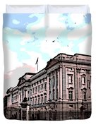 Buckingham Palace Duvet Cover by George Pedro
