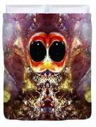 Bug Eyes Duvet Cover by Skip Nall