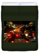 Busy Highway Duvet Cover by Carlos Caetano