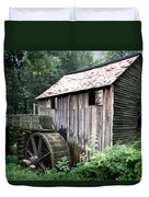 Cade's Grist Mill Duvet Cover by Barry Jones