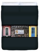 Calle D Borbon Duvet Cover by Bill Cannon