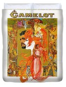Camelot Duvet Cover by Georgia Fowler