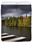 Canoe Lake Duvet Cover by Cale Best