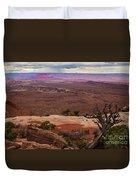Canyonland Overlook Duvet Cover by Robert Bales