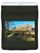 Cape Cod Grist Mill Duvet Cover by Catherine Reusch  Daley