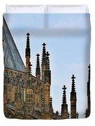 Cathedral Of Ss Vitus - Prague Castle Hradcany - Prague Duvet Cover by Christine Till