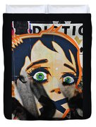 Censorship Duvet Cover by Harry Spitz