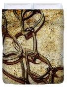 Chain Links Duvet Cover by Judi Bagwell