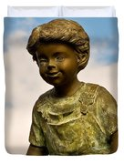 Child In The Clouds Duvet Cover by Al Powell Photography USA