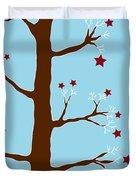Christmas Tree Duvet Cover by Frank Tschakert