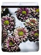 Chrysanthemum 3 Duvet Cover by Skip Nall