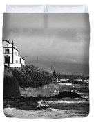 Church by the sea Duvet Cover by Gaspar Avila