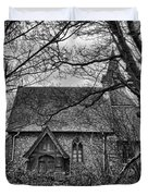 Church In The Woods Duvet Cover by Dave Godden