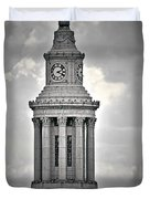 City and County of Denver building Duvet Cover by Christine Till