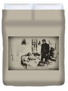 Civil War Hospital Duvet Cover by Bill Cannon