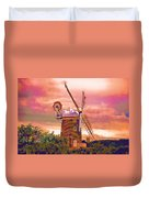 Cley Windmill 2 Duvet Cover by Chris Thaxter