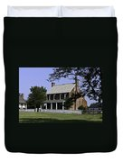 Clover Hill Tavern Appomattox Virginia Duvet Cover by Teresa Mucha