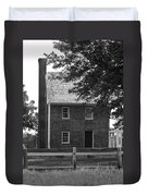 Clover Hill Tavern Guesthouse Bw Duvet Cover by Teresa Mucha
