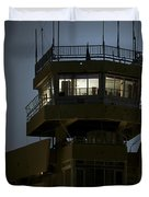Cob Speicher Control Tower Duvet Cover by Terry Moore