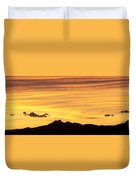 Colorado Sunrise Landscape Duvet Cover by Beth Riser
