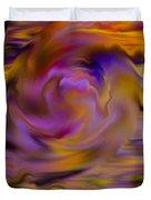 Colourful Swirl Duvet Cover by Hakon Soreide