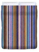 Comfortable Stripes Ll Duvet Cover by Michelle Calkins