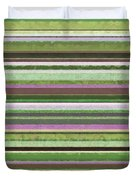 Comfortable Stripes lV Duvet Cover by Michelle Calkins