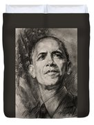 Commander-in-chief Duvet Cover by Ylli Haruni