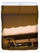 Conestoga Wagon Duvet Cover by Darren Greenwood