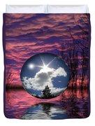 Contrasting Skies Duvet Cover by Shane Bechler