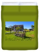 Country Classic Paint Filter Duvet Cover by Steve Harrington