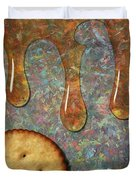 Cracker Honey Duvet Cover by James W Johnson