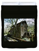 Cross Eyed Cricket Grist Mill Duvet Cover by Paul Mashburn