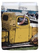 Cruising The Old Chevy Duvet Cover by Steve McKinzie