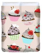 Cupcake  Duvet Cover by Setsiri Silapasuwanchai