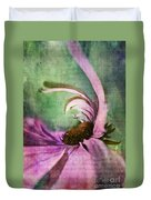 Daisy Fun - A01v042t05 Duvet Cover by Variance Collections