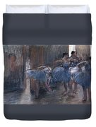 Dancers Duvet Cover by Edgar Degas