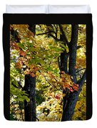 Dazzling Days Of Autumn Duvet Cover by Will Borden