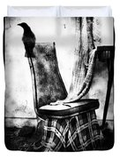 Death Of A Songbird  Duvet Cover by Jerry Cordeiro