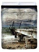 Deconstruction  Duvet Cover by Andrew Paranavitana