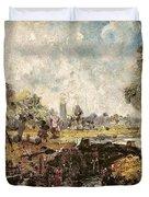 Dedham Lock Duvet Cover by John Constable