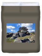 Devil's Den Formation 25 Duvet Cover by Paul W Faust -  Impressions of Light