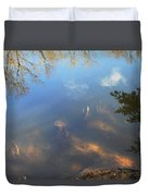Different Worlds Duvet Cover by Karol Livote