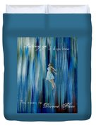 Divine Flow Duvet Cover by The Art With A Heart By Charlotte Phillips