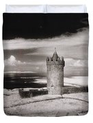 Doonagore Tower Duvet Cover by Simon Marsden